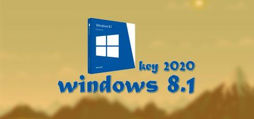 windows 8 1 keys free 2020