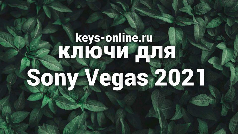 kluchi dlya sony vegas 2021