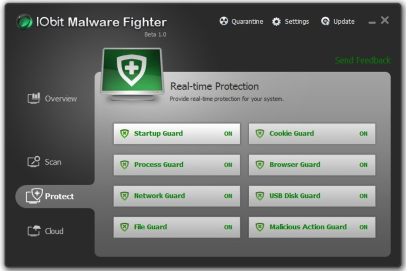 ключ для iobit malware fighter