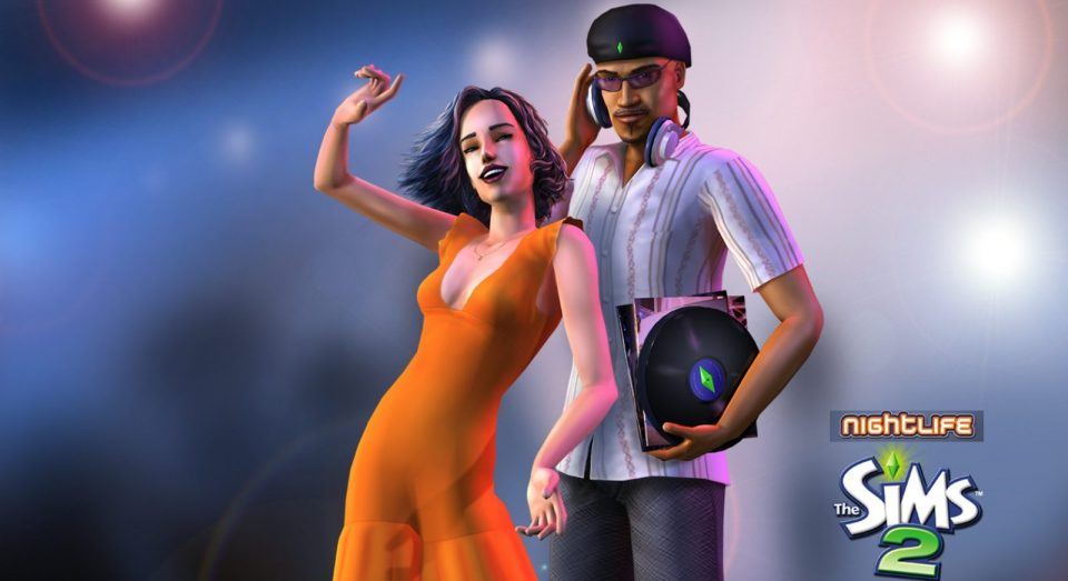 Ключи для игры The Sims 2 Nightlife
