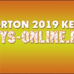 Свежий ключ для Norton security 2019