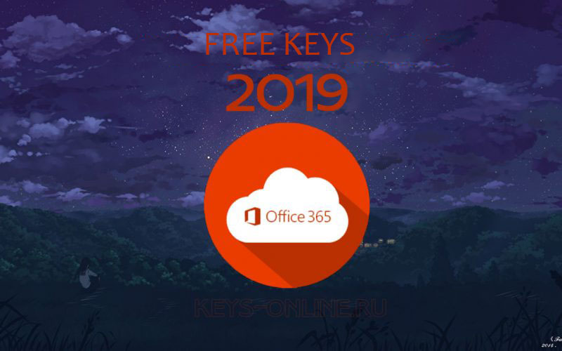 Office 365 License Key - Fresh 2019